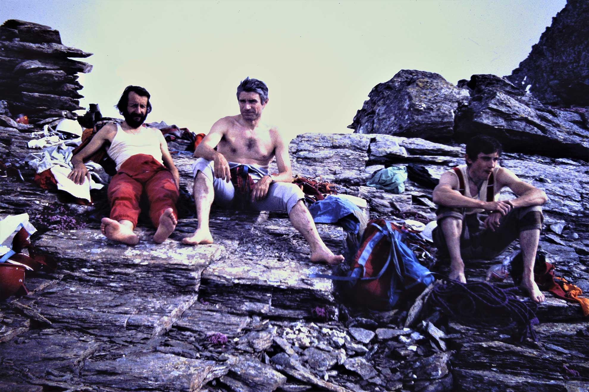 Ribetti Manera Meneghin in vetta al Monte Lera